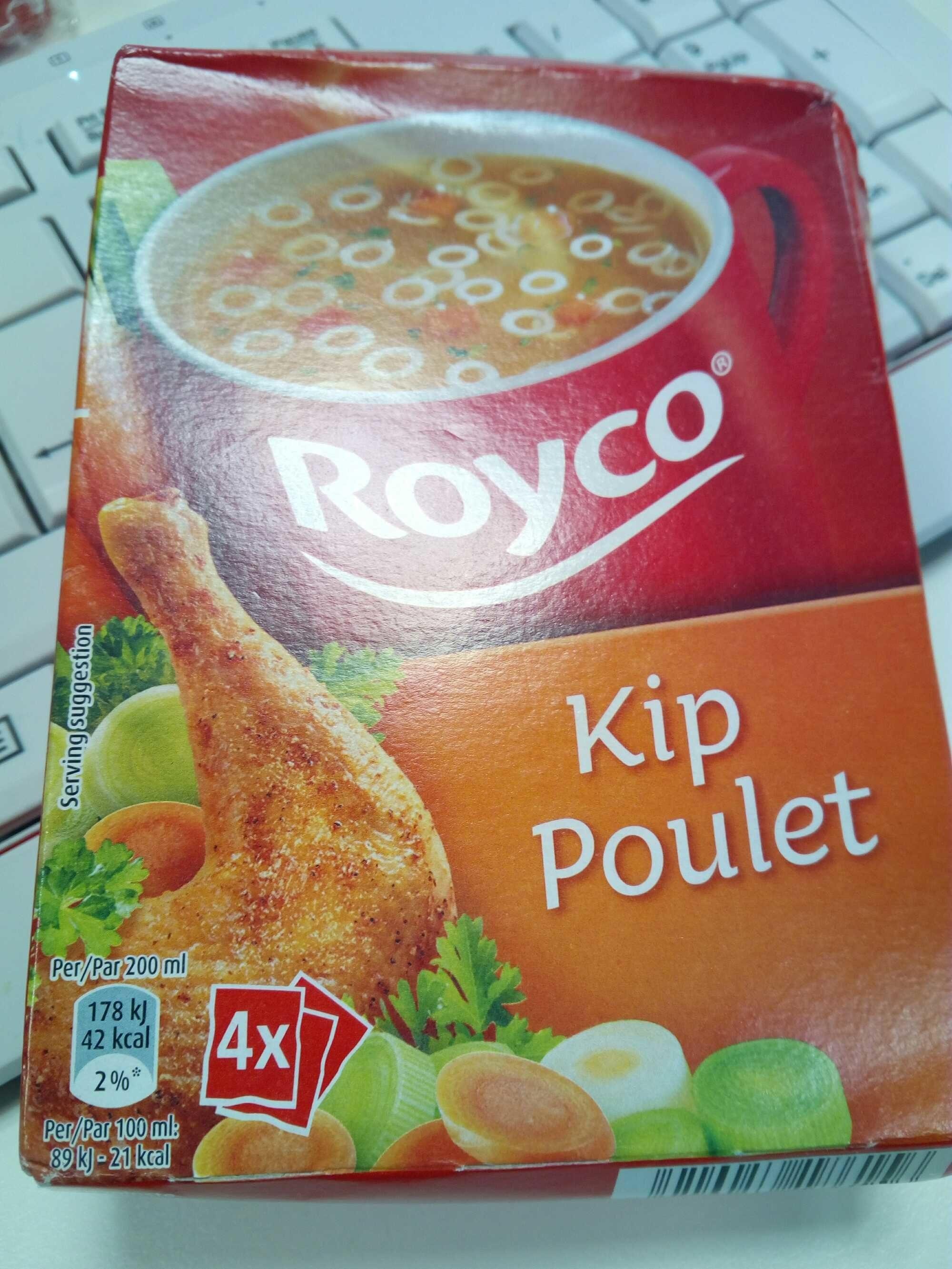 Soupe poulet - 产品 - fr