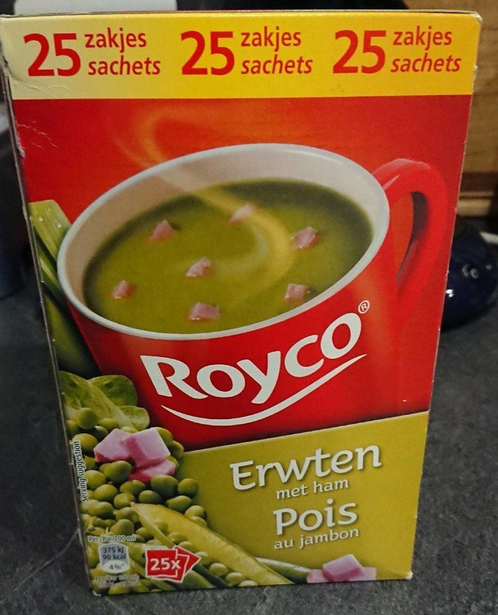 Soupe Royco Pois Cassés Jambon 25 Unités - Product