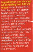 Soupe En Sachet Tomate 3 Unités Ea - Ingrediënten