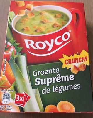Royco Minutesoep X3 Groenten Supreme - Produit - fr