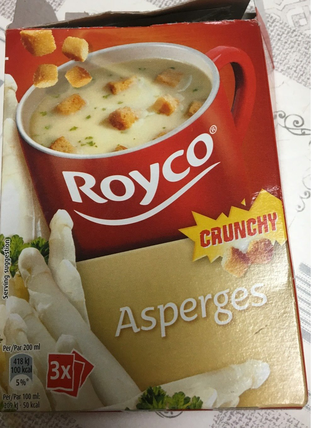 Minute Soup Asperges, Royco Campbell's - Product - fr