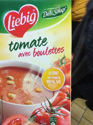 Soupe tomate avec boulettes - Product