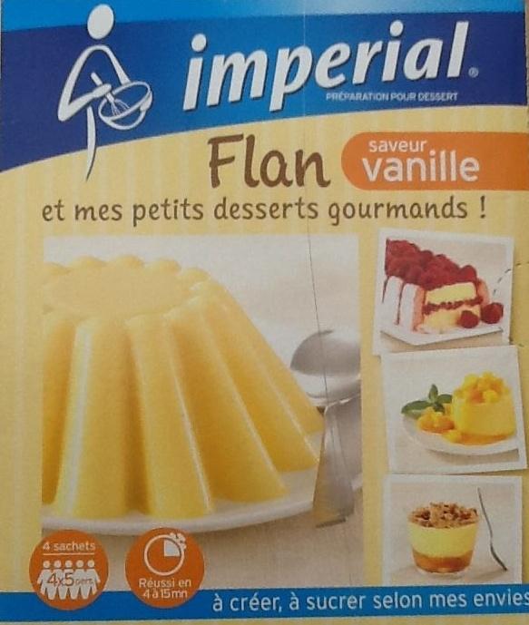 Flan saveur vanille - Produit - fr