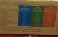 Flan saveur vanille - Informations nutritionnelles - fr