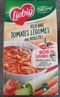 Deli soup' Julienne tomates-légumes avec boulettes - Product - fr