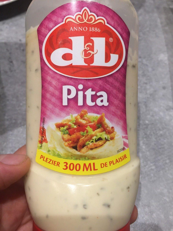 Pita - Sauce avec un délicieux goût d'ail - Produit - fr