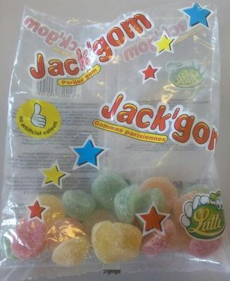 Jack'gom gommes parisiennes - Produit