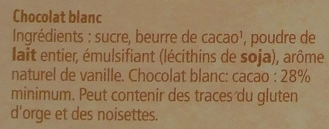 Matinettes blanc - Ingrédients - fr