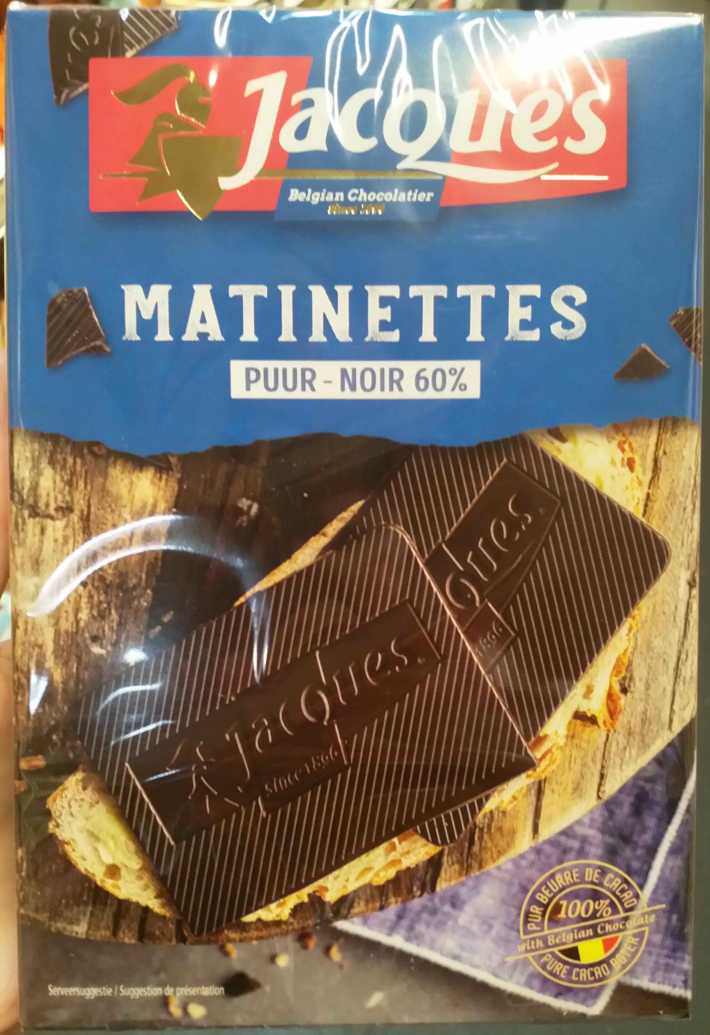 Matinettes Noir 60% - Produit - fr