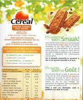 Céréal Speculoos - Voedingswaarden