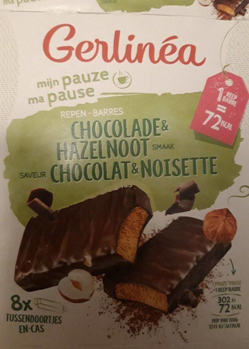 Barres choco noisette - Produit - fr