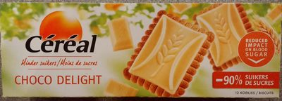 Ceral Sugar Control, Choco Delight White - Product - fr