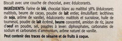 Ceral Sugar Control, Choco Delight White - Ingrediënten - fr