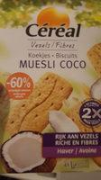 Muesli coco - Voedingswaarden