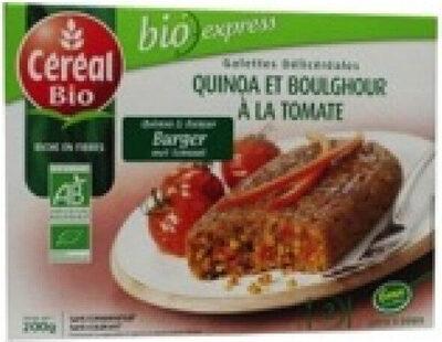 Galette de quinoa et boulghour à la tomate - Produit - fr