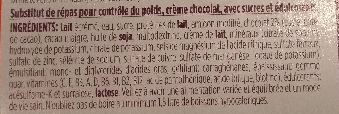 Pudding minceur complet - Ingrediënten - fr