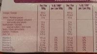 Pudding minceur complet - Voedingswaarden - fr