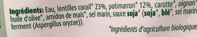 Cereal Doy Puree Linzen Pompoen - Ingrediënten - fr