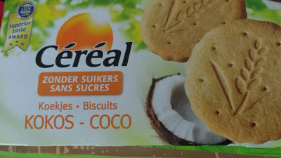 Coco Biscuits Sans Sucre - Product