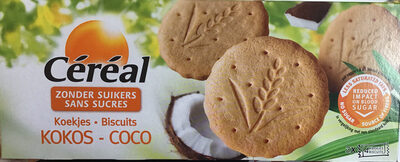 Coco Biscuits Sans Sucre - Product - fr