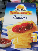 Céréal Glutenfree & Lactosefree Crackers - Product - fr