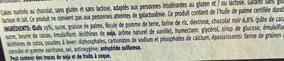 Mini cakes marbrés - Ingredienti - fr