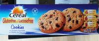 Céréal Glutenfree & Lactosefree Cookies Aux Pépites De Chocolat - Produit