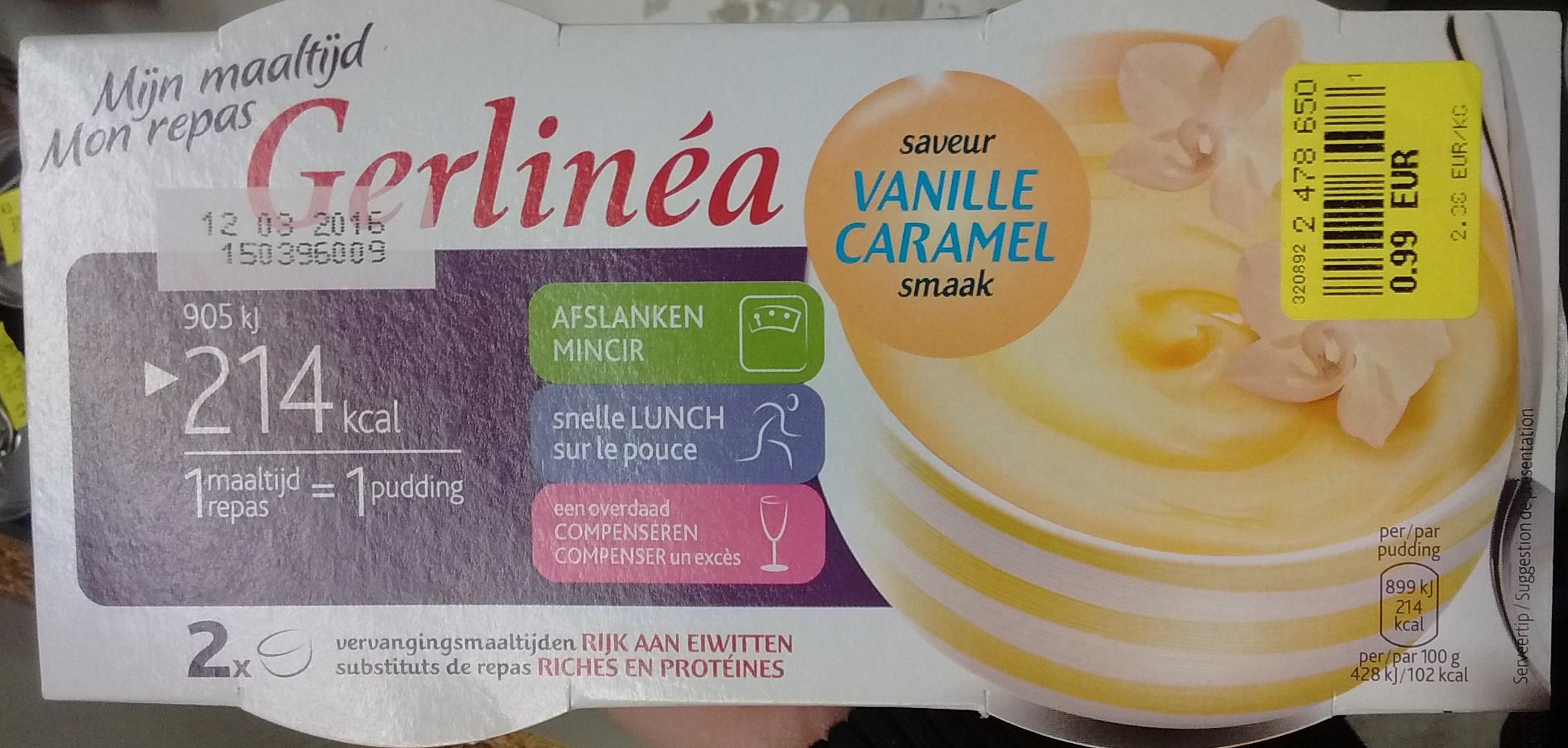 Mon repas saveur Vanille Caramel - Product