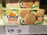 Céréal Sésame-vanille Biscuits - Product