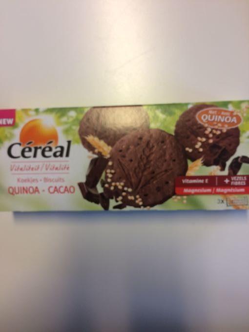 Céréal Sablés Quinoa Cacao - Product - fr