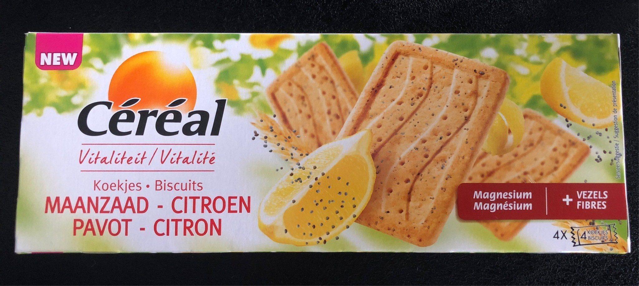 Biscuit citron/pavot - Product - fr