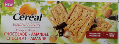 Biscuits Vitalité Chocolat - Amande - Product