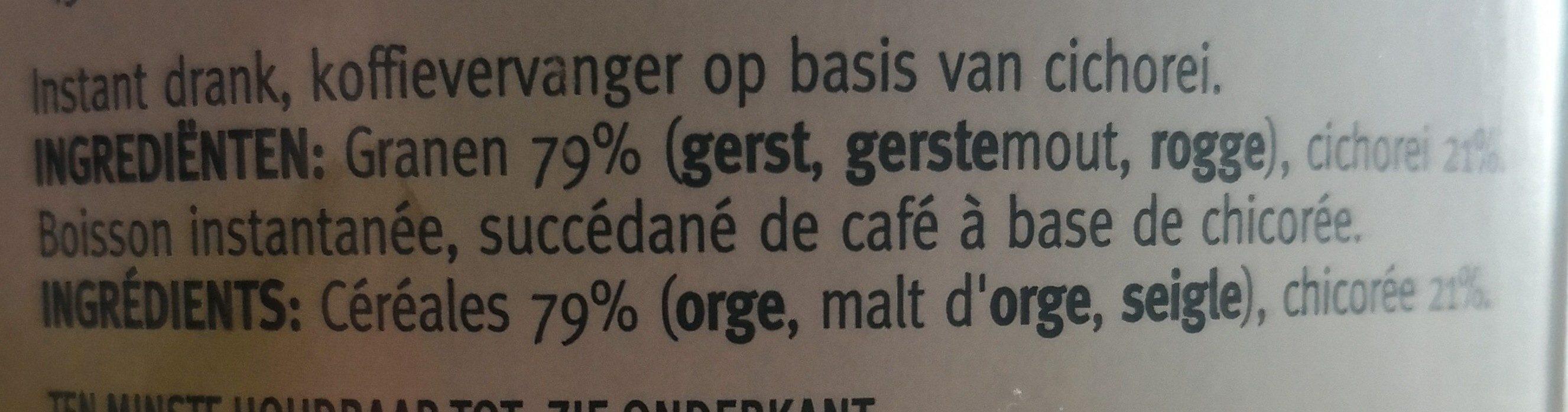 Boisson aux céréales - Ingrediënten