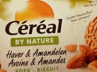 Céréal By Nature Avoine &amande Petits Gâteaux Aux Céréales - Product - fr