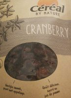 By Nature Cranberry - Product