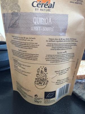 Quinoa soufflé - Product