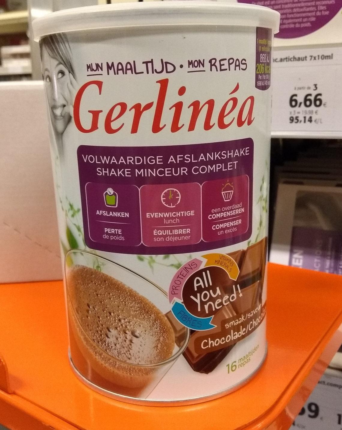 Gerlinéa Mon Repas Shake Minceur Complet Saveur Chocolat - Product - fr