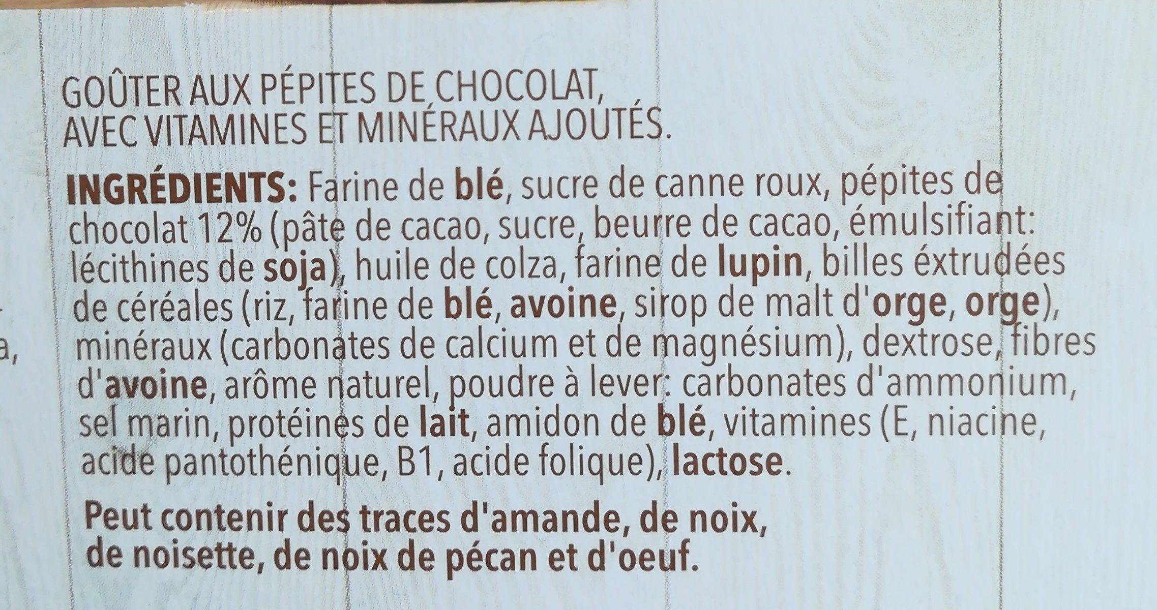 Céréal - Ingrediënten - fr