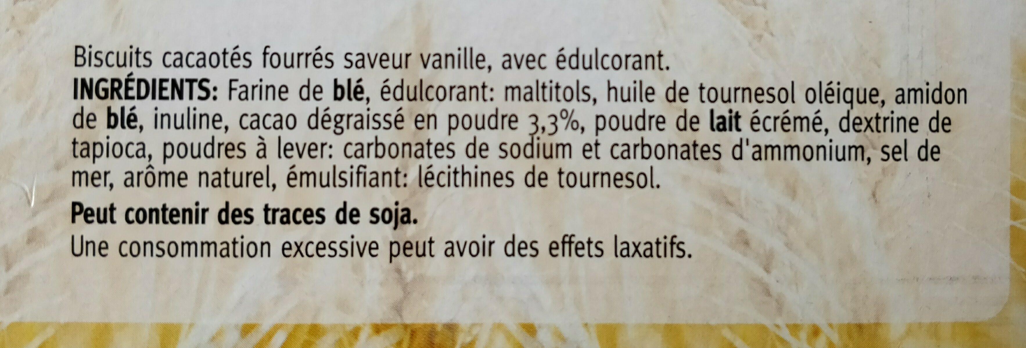 Céréal double delight - Ingrédients