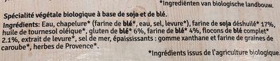Nuggets - Ingrédients - fr