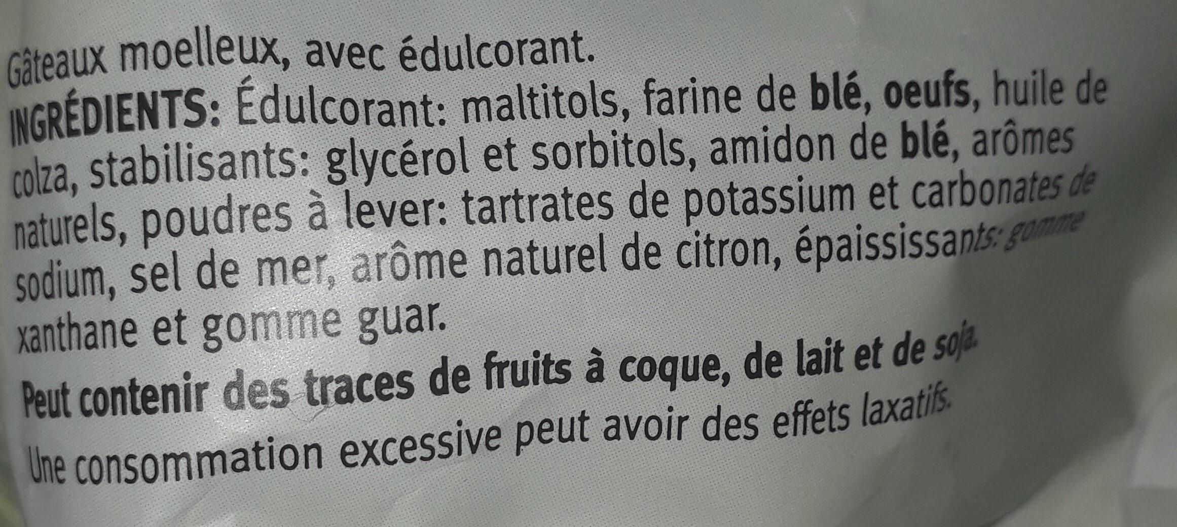 Mini cakes - Ingredients - fr