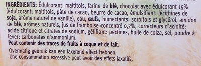 Framboise delight - Ingrédients
