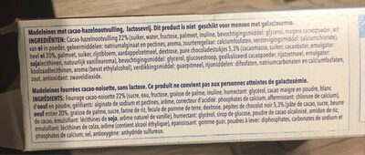 Madeleines chocolat - Inhaltsstoffe - nl