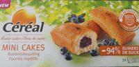 Mini cakes fourrés myrtille - Product
