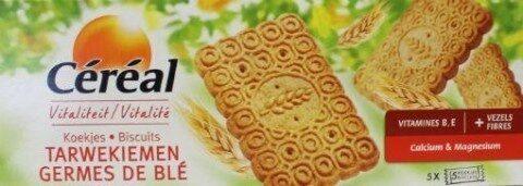 Céréal Biscuits Germes De Blé - Product - fr