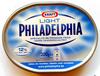 Light Philadelphia, spécialité de fromage frais - Product