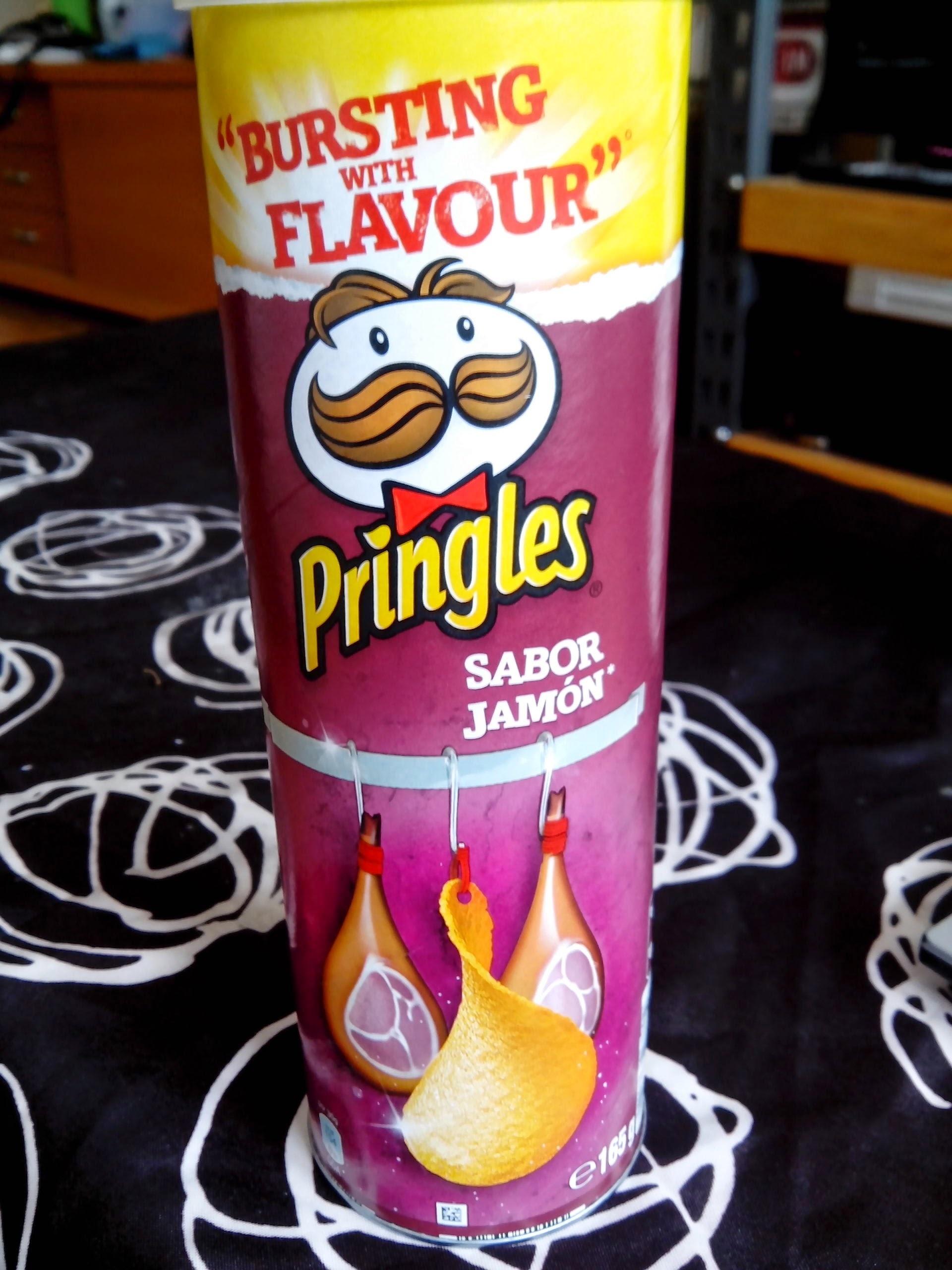 Pringles sabor Jamón - Producto