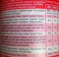 Pringles original - Información nutricional - fr
