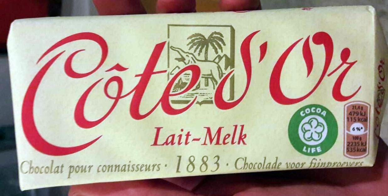 Côte d'Or Lait (33% de cacao) - Product