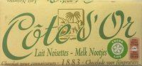 Lait noisettes - Product